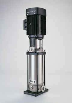 GRUNDFOS Vertikale Kreiselpumpe CRN10-2 A-CA-G-E-HQQE 3x400V 0,75kW