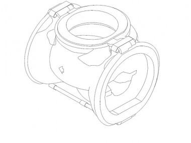GRUNDFOS Zubehör für Umwälzpumpen Kältedämmschalens. MAGNA3_100-xxx F 450