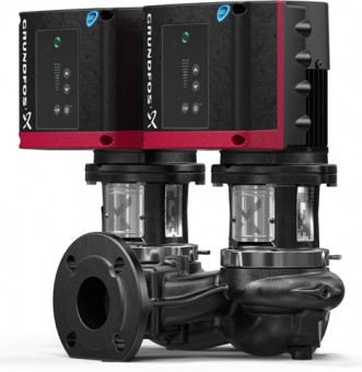GRUNDFOS Elektr. ger. Trockenläuferpumpe TPE2D50-200-N-A-F-A-BUBE PN16 3x400V