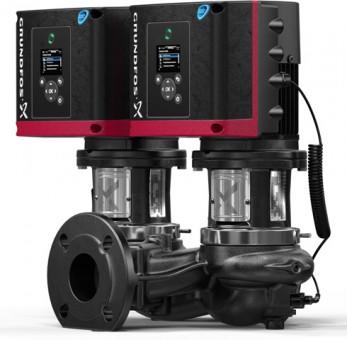 GRUNDFOS Elektr. ger. Trockenläuferpumpe TPE3D100-40-S-A-F-A-BUBE PN10 3x400V