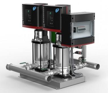 GRUNDFOS Druckerhöhungsanlage Hydro Multi-E 2CRIE3-17 PN16 400V 2,2kW