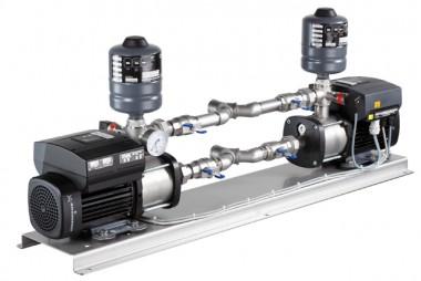 GRUNDFOS Druckerhöhungsanlage Hydro Twin CME1-5 U1 ABAA 230V TLS SCHW