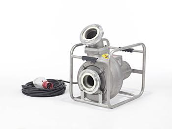 Mast Abwassertauchpumpe ATP 20 R Rahmenausführung in Edelstahl 400 Volt im Rohrramen - 10m Kabel