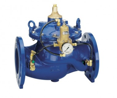 Honeywell Druckhalteventil DH300 GGG pulverb. blau A DN 450