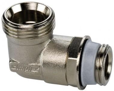Simplex Anschlusswinkel G1/2a x G3/4a Eurok. MS vern.