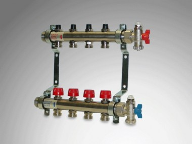 PURMO Flächenheizung Premium line Verteiler 2 Heizkreise