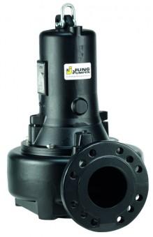 Jung MultiStream-Pumpe 10/4 B1, Ex 400 V, Kanalrad, Explosionsschutz