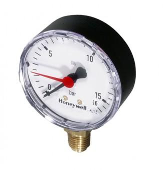 Honeywell Manometer M76K m verstellb Markierungszeiger T 0 - 16 b
