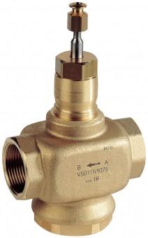 Honeywell Durchgangsventil V5011R Rotguss, PN 16 DN 15, Kvs-Wert 1,6