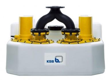 KSB Hebeanlage Compacta UZ 5.450 D m. Rückflußsperre, Steuerung LCB2