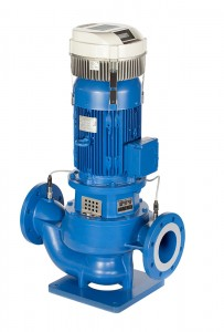 Lowara Inline-Pumpe LNESH 80-160/11A/P45RCB4