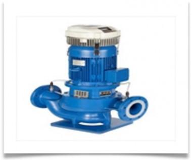 Lowara Inline-Pumpe LNEE 40-125/22/P25RCS4