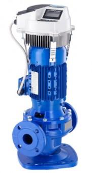 Lowara Inline-Pumpe mit Normmotor LNES 50-125/22/P25RCS4