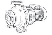 Lowara Kreiselpumpen aus Grauguss NSCS 80-315/110A/W45VCC4
