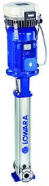 Lowara Mehrstufige vertikale Edelstahl Kreiselpumpe  mit HYDROVAR 3SVH14F015T/D