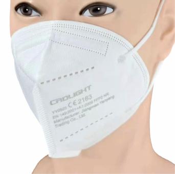 2er Set Atemschutzmaske FFP2 mit CE Kennzeichen
