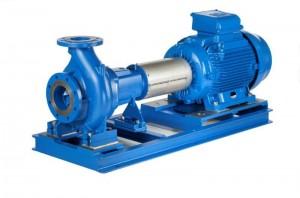 Lowara Norm-Kreiselpumpen aus Grauguss NSCC 200-250/300/W45VDC4