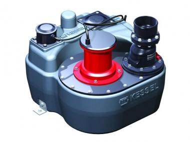 KESSEL-Hebeanlage Aqualift-F Einzelanlage mit Absperreinrichtung 1,1 kW, 230 V