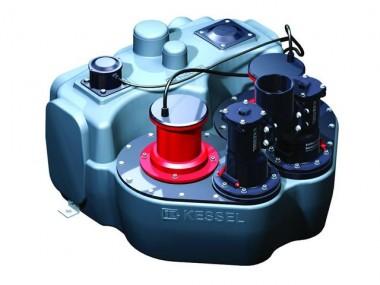 KESSEL-Hebeanlage Aqualift F Duo Doppelanlage ohne Absperreinrichtung, 2,2 kW, 400V