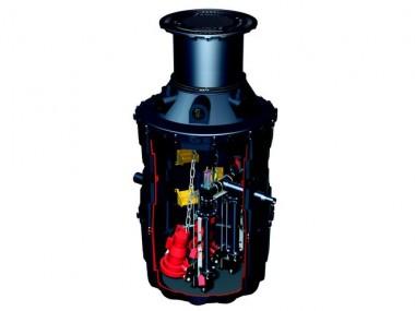 KESSEL-Pumpstation Aqualift F im Komfort-Schachtsystem LW 1000