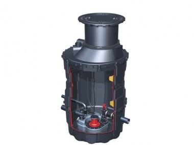 KESSEL-Hebeanlage Aqualift F im Komfort-Schachtsystem LW 1000