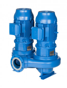 Lowara Inline-Pumpe  LNTS 80-200/150/P25VCB4
