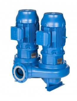 Lowara Inline-Pumpe  LNTS 100-250/55/P45VCB4