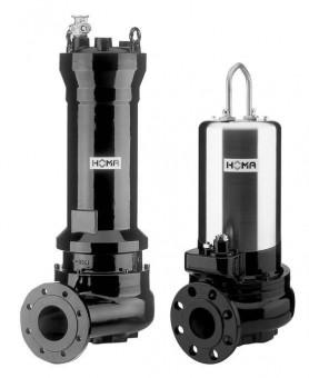 HOMA Abwasser-Tauchmotorpumpe MX 2438-T44 Ex St/Dr