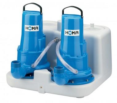 HOMA Abwasser Hebeanlage Sanimaster G250-26D|400 Volt|Artnr:9804266.01