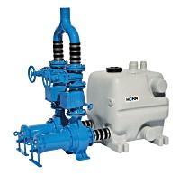 HOMA Überflutbare Abwasser-Hebeanlage  PE40 S-TP70M16/4 D