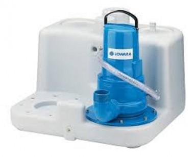Lowara Schmutzwasser-Hebeanlage mit Unterflur-Sammelschacht SEKAMATIK 200 E UF 10M K3