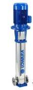 Lowara Mehrstufige vertikale Edelstahl Kreiselpumpe INLINE 10SV01F007T/D