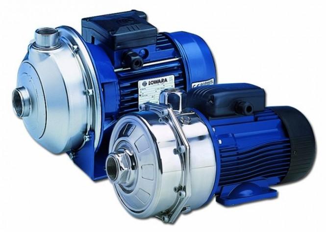 Kreiselpumpe edelstahl 1.4301 elastomer FPM CEA120//3+V 0,55kW 0,75Hp400V Lowara