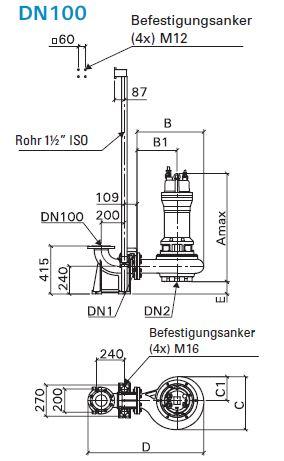 Baumaße MX 2462-PU94