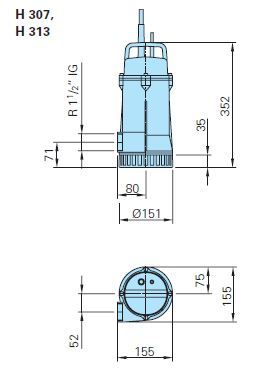 Baumaß H313da